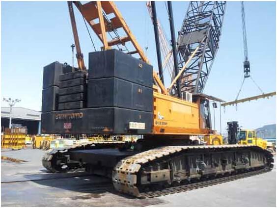 Sumitomo crane parts