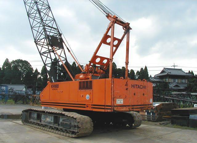Hitachi Crane Parts