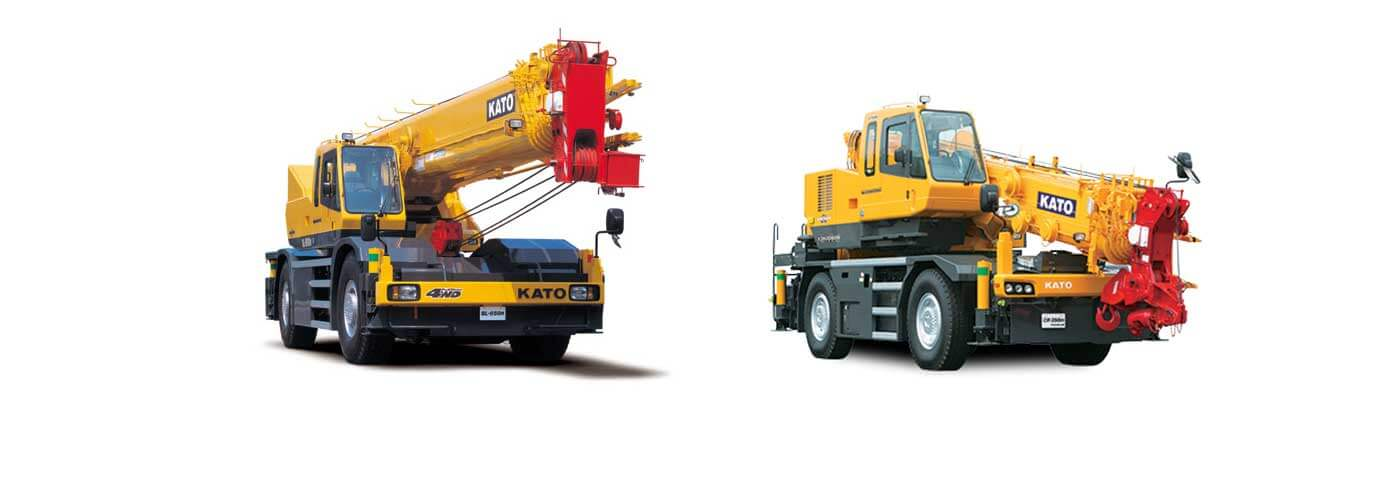 Kato crane spare parts